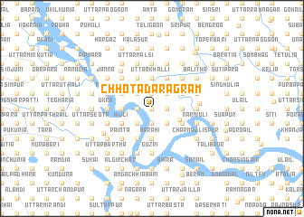 map of Chhota Daragrām