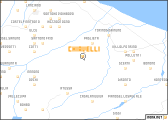 map of Chiavelli