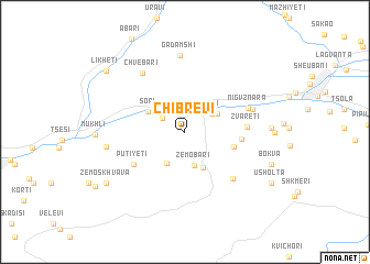 map of Chibrevi