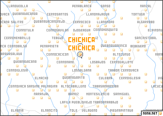 map of Chichica