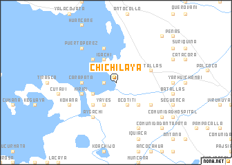map of Chichilaya