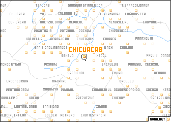 map of Chicuacab