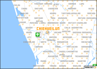 map of Chieh-wei-lun