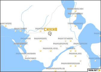 map of Chikhâ