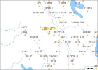 map of Chikoya