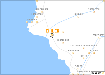 Chilca (Peru) map - nona.net