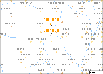 map of Chimudo