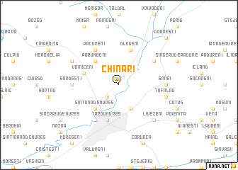 map of Chinari