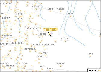 map of Chināri