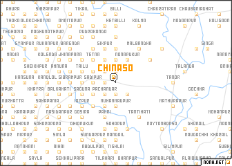 map of Chināso