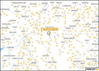 map of Chingiāni