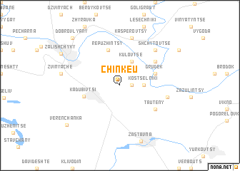 map of Chinkeu