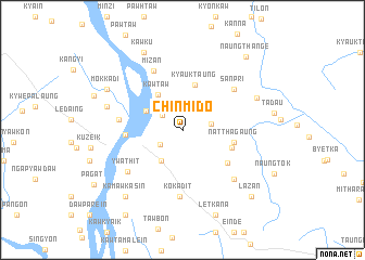 map of Chinmido