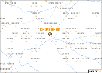 map of Chipeukeni