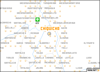 map of Chiquicha