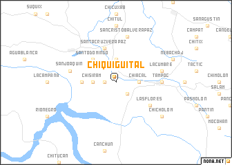 map of Chiquigüital