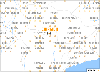 map of Chirijox