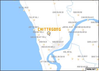 Chittagong Bangladesh map nonanet