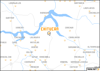 map of Chitucán