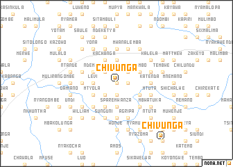 map of Chivunga