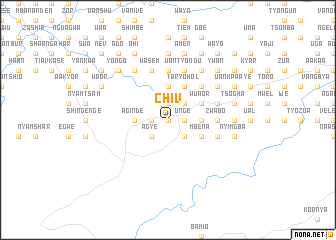map of Chiv