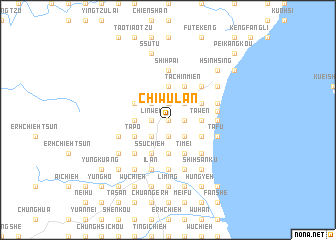 map of Ch\