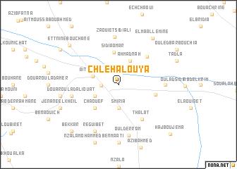 map of Chlehalouya