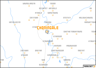 map of Chon-ingale