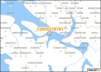map of Chonse-zayat