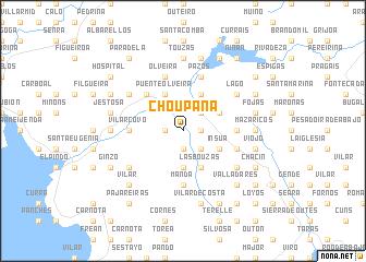 map of Choupana