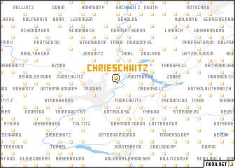 map of Chrieschwitz