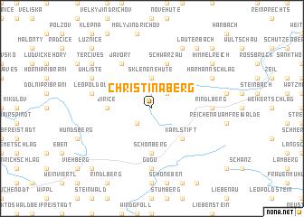 map of Christinaberg