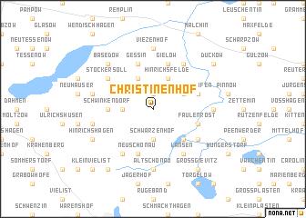 map of Christinenhof
