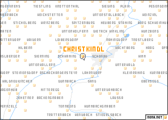 map of Christkindl
