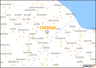 map of Chrouda