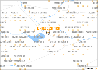 map of Chrzczanka