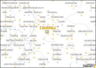 map of Chuanuj