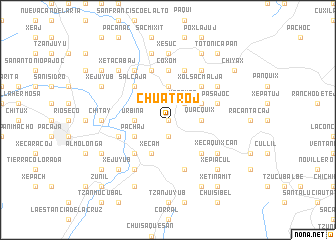 map of Chuatroj