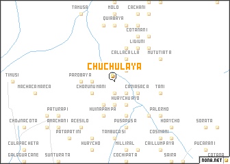 map of Chuchulaya