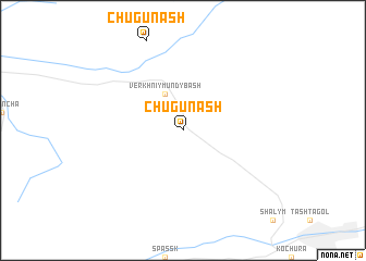 map of Chugunash