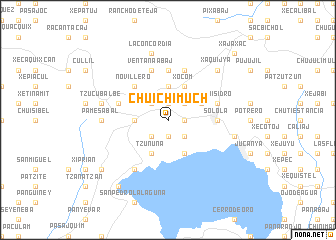 map of Chuichimuch