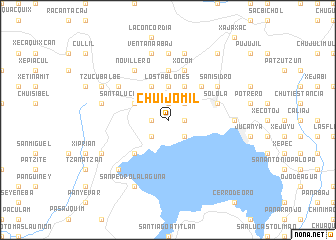 map of Chuijomil
