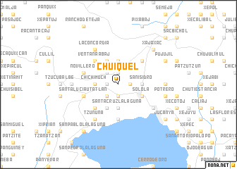 map of Chuiquel