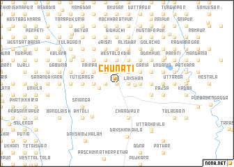 map of Chunāti