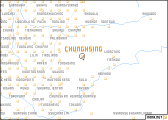 map of Chung-hsing