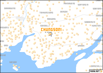 map of Chungso-ri