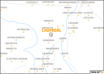 map of Chupadal