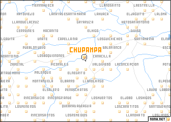 map of Chupampa