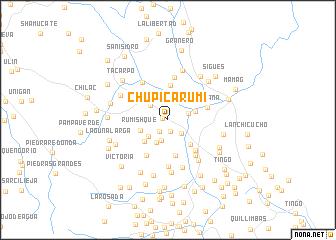 map of Chupicarumi