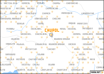 map of Chupol